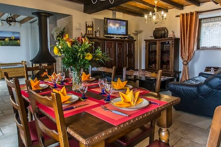 COTTAGE L'ECOLINE BRION  ISERE 4**** - Brion - Rumah