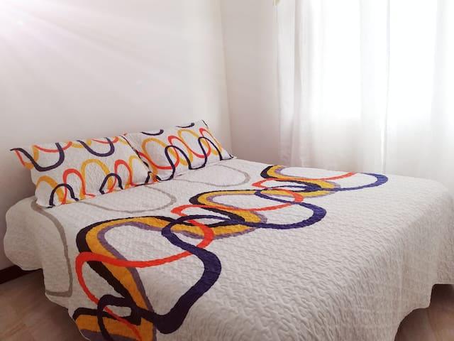 LIVING THE SUNRISE IN PASTO  Acogedor apartamento!
