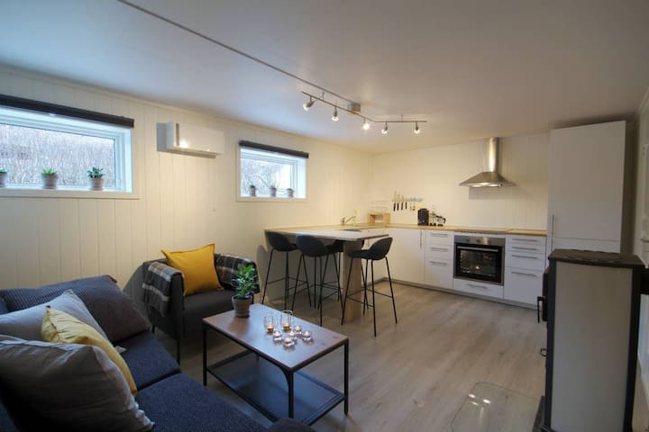 ★ Roomy+modern 2 BR, 20 min walk to central Flåm ★