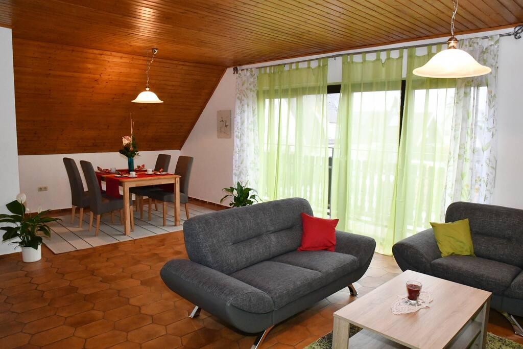 Ruhige und gem tliche ferienwohnung in augsburg for Augsburg apartments for rent