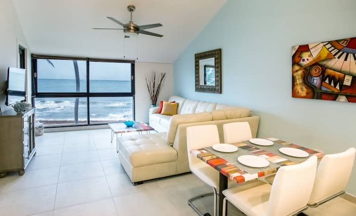 BV103  - Amazing Beachfront Condo steps from sand