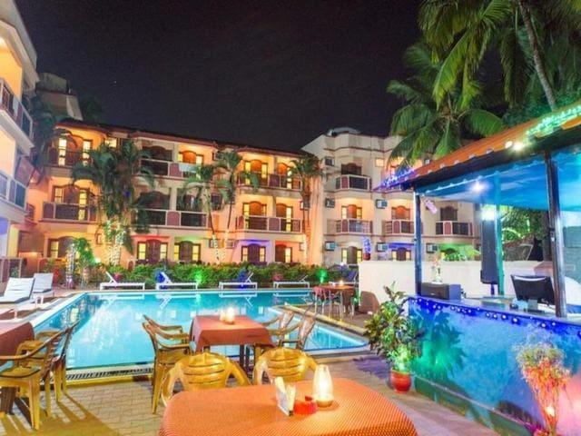 Couple's Nest in beautiful resort near baga beach