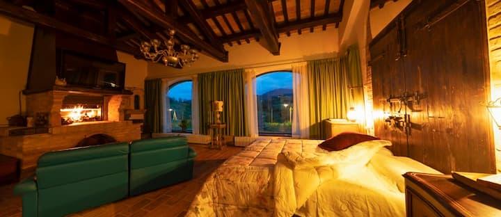 Azzurro di Vallepietra - Villa privata con piscina