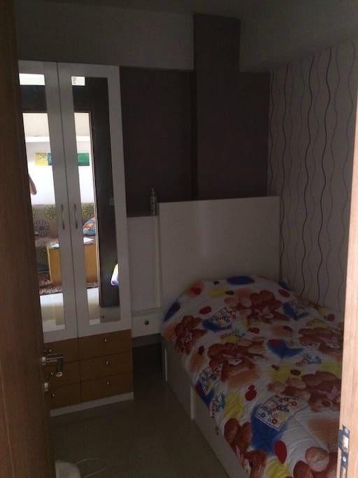 Comfortable second bedroom