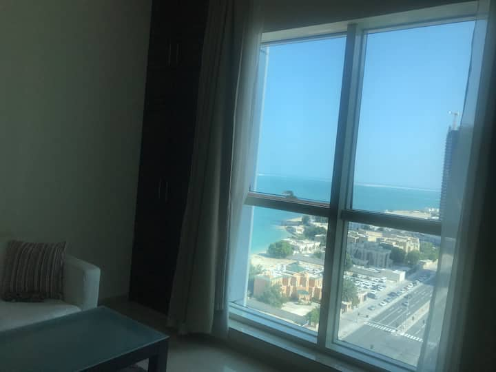 A studio apartment 15 th floor 5 star hotels area