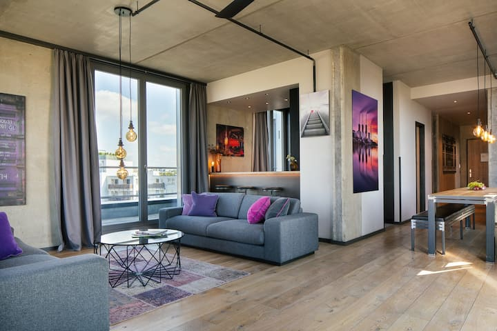 "4-Raum Penthouse ""Grand View"", 147 qm"