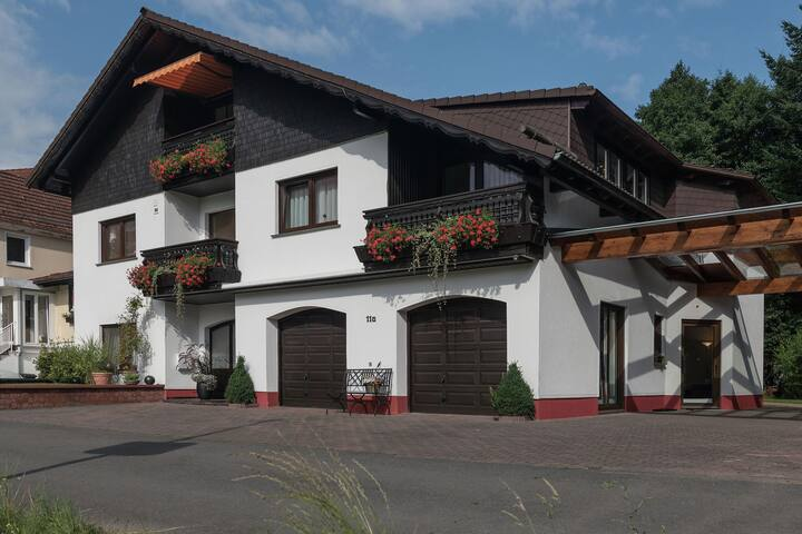 Quaint Apartment in Hüttenthal with Garden