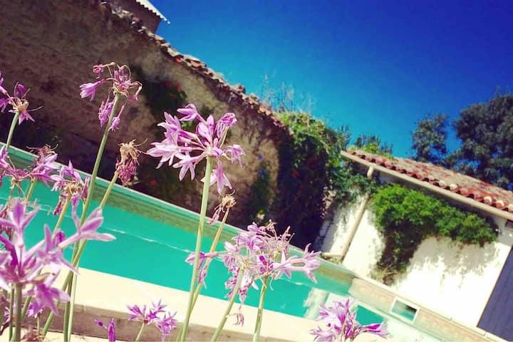 Beautiful,  Luxury Gîte,  private pool, sleeps 6.