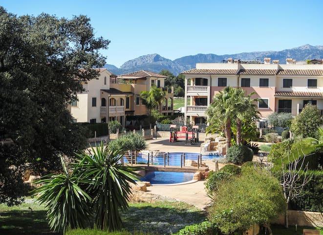 Echt-Mallorca-Wohnerlebnis mit Traumpool - Es Caulls - Apartment