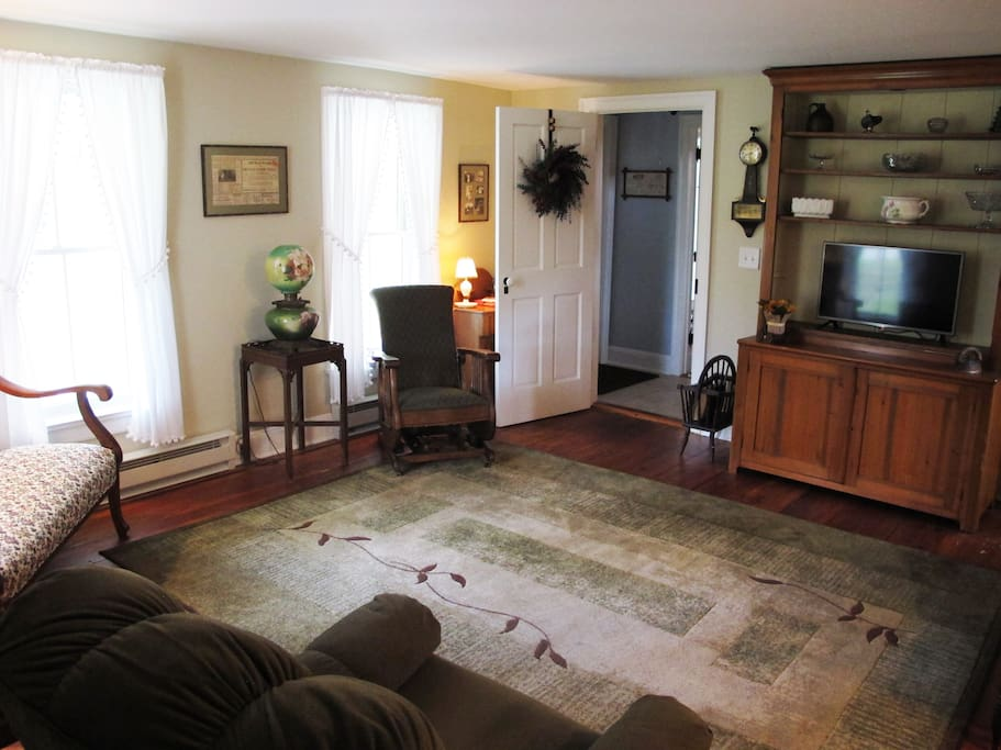The Wagar Suite Living room