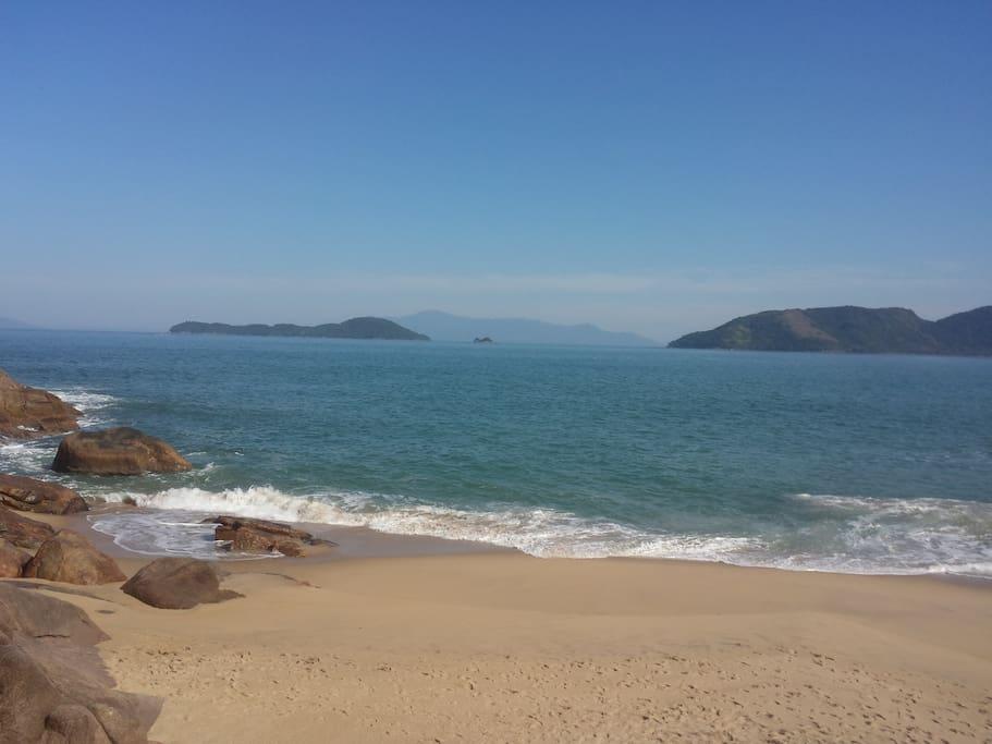 Praia da Sununga (5 minutos Carro)