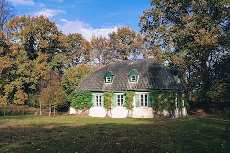 Cozy old house in a big park - Hoisdorf - Casa