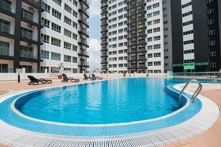 New Opening Bargain - Entire Condo for 7 ppl @ KL! - Kuala Lumpur - Byt