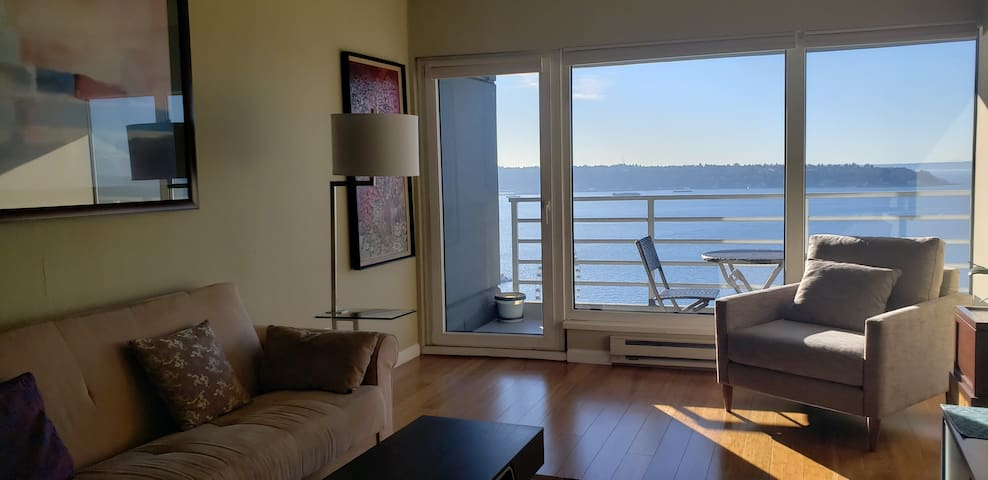 Downtown High-rise with Amazing Puget Sound View