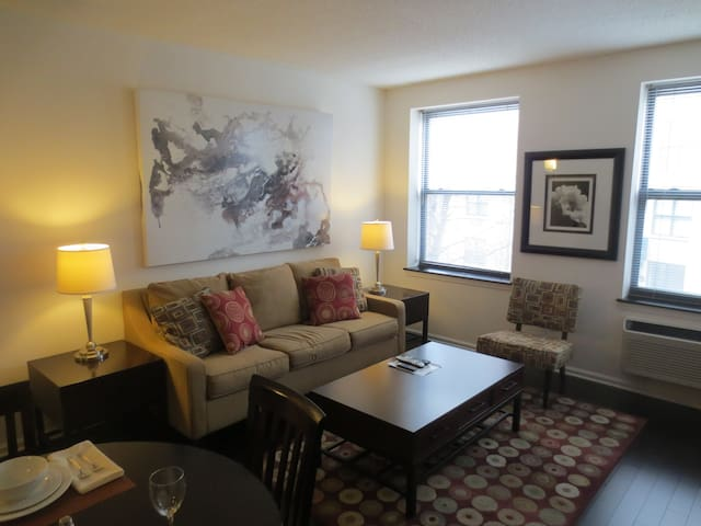 Upscale 1-Bedroom Apartment in Morristown NJ! - Morristown - Flat