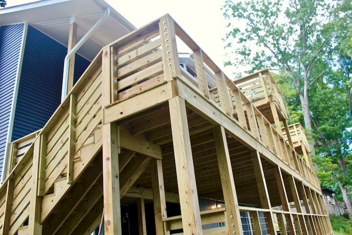 Over 2,000 Sq Ft of Deck Space