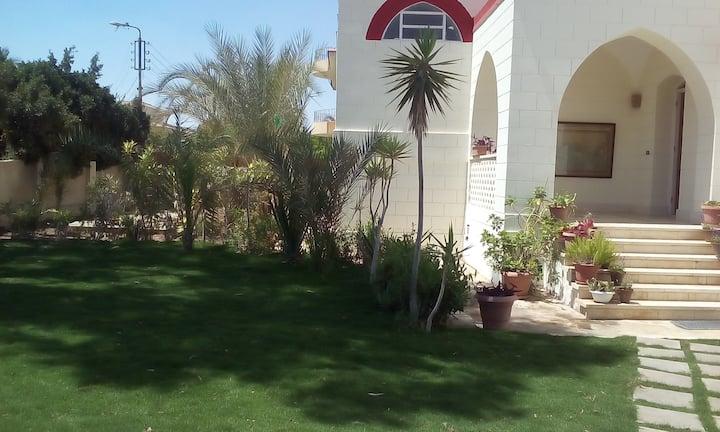 Cairo suburban villa in a private compound