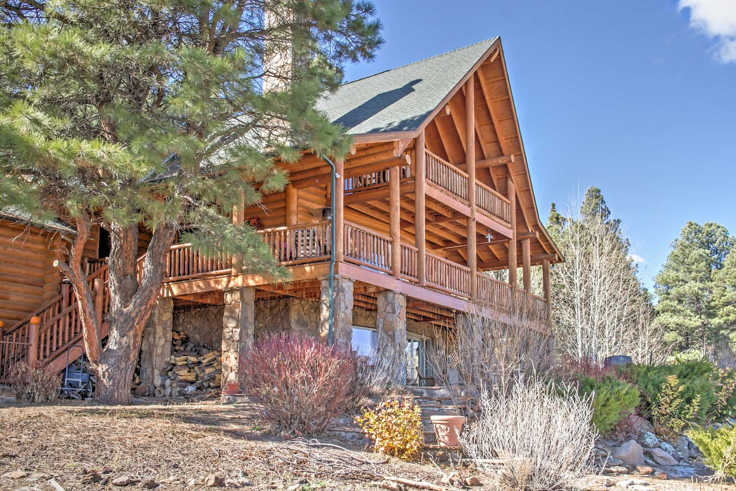 Experience a memorable Arizona getaway at this Flagstaff vacation rental cabin!
