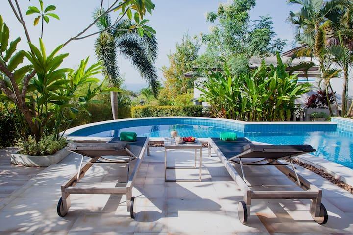 Villa Eng Fah  Sea view, walking distance to beach