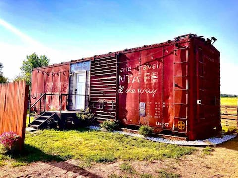 The Santa Fe Boxcar