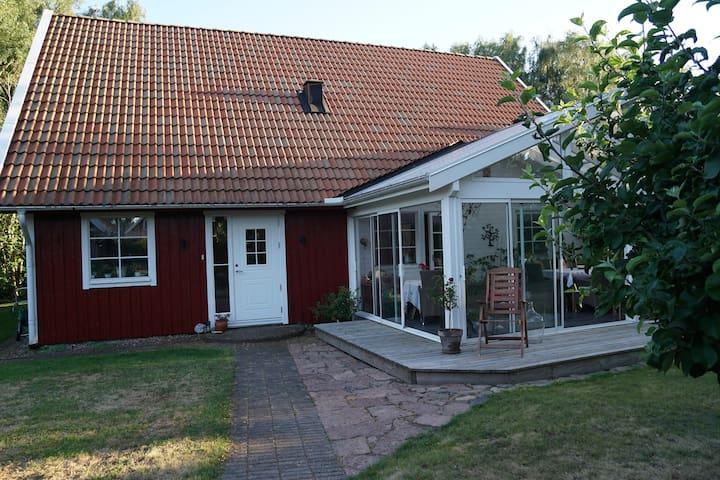 Charmigt och avskilt p Bjre - Vejbystrand, Skne - Airbnb