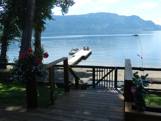 Shuswap Lake Beach House and Cabin
