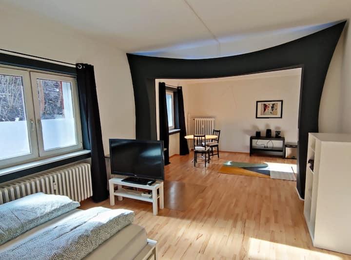 Hübsch designtes Apartment in zentraler Lage