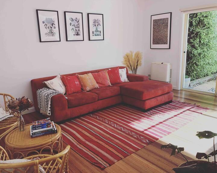'Imsouane' - 1BR Apartment+Courtyard+BBQ+Nespresso