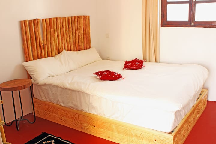 Salt Surf Taghazout - Deluxe rooftop double room