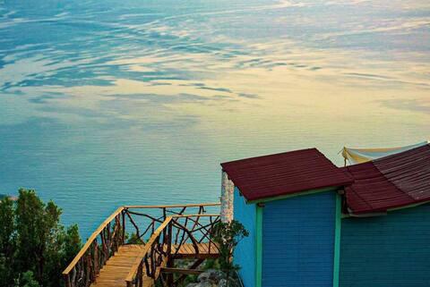 Blu Nova-Yarım Pansiyon Deniz Manzaralı Bungalow