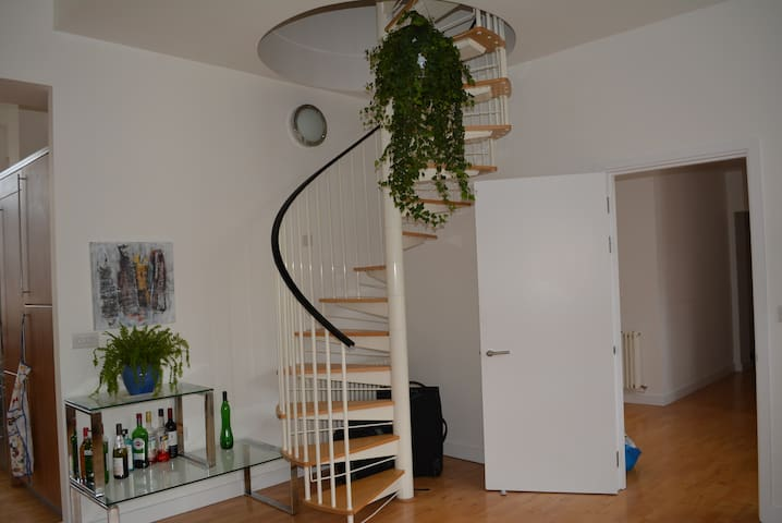 Spacious Double Room with ensuite in penthouse apt