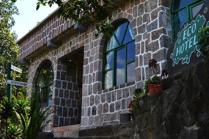 Eco Hotel Uxlabil - paz y tranquilidad - San Juan La Laguna - Appartement