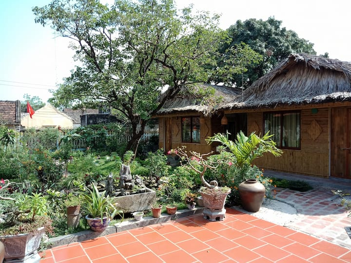 Amazing Homestay - Tam Coc Palm House-Family room
