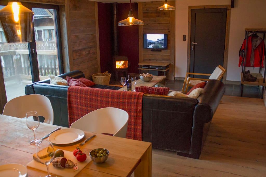 Luxurious spacious ski apartment