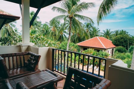 Beautiful & Quiet 2 BDR Pool Villa Cheap Monthly.
