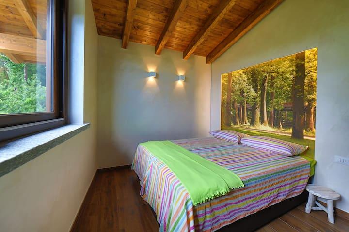 Camera con vista sul Ticino vicino a Malpensa - Somma lombardo - Inap sarapan