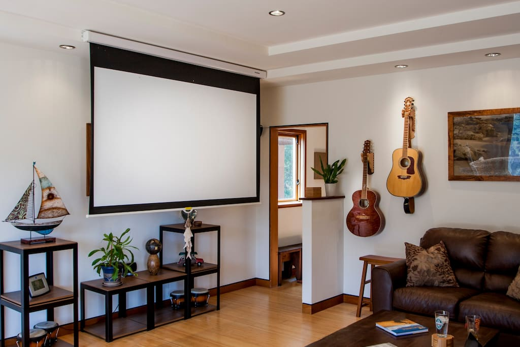 HD projection entertainment