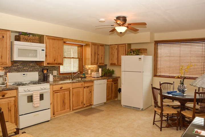Cottage Fully Equipped Kitchen