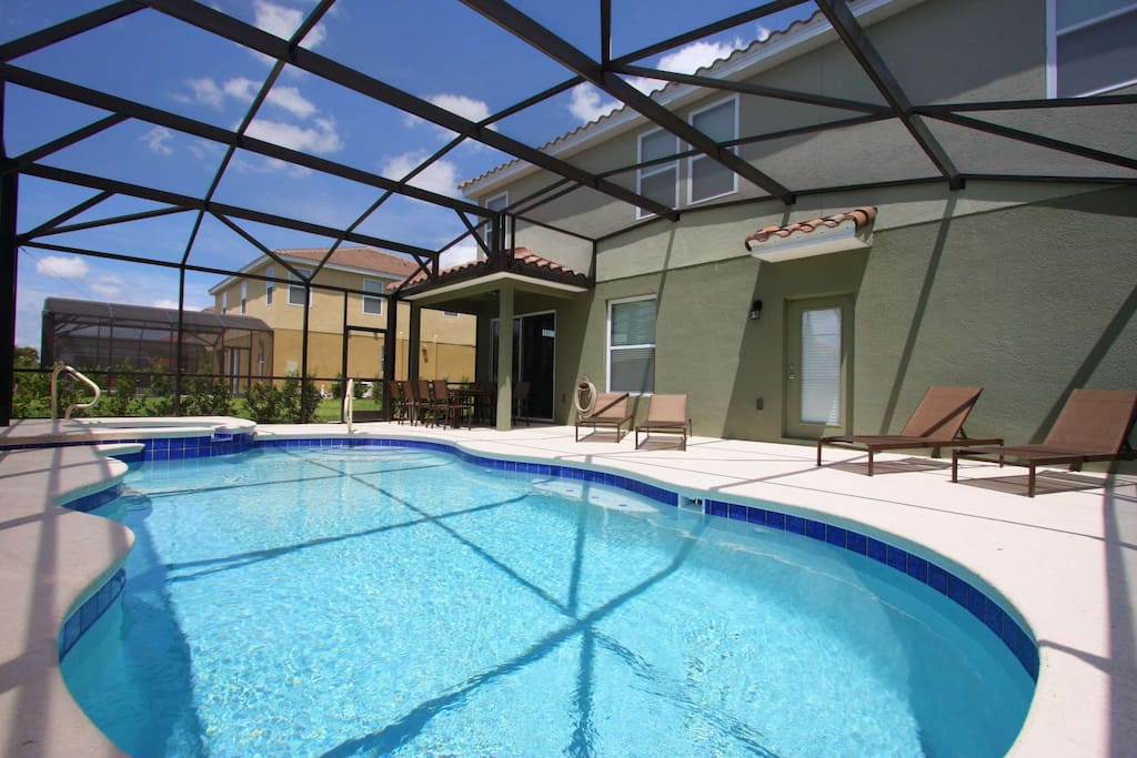 Oversize Lanai w/Your Own Private Pool & Spa