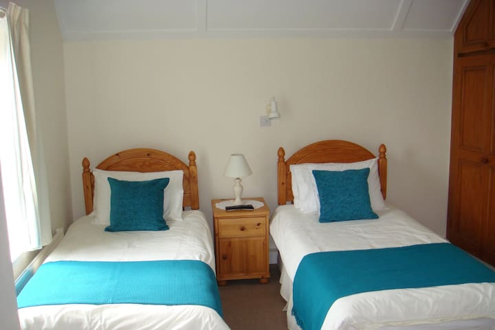 Twin en suite Room - Bed and Breakfast