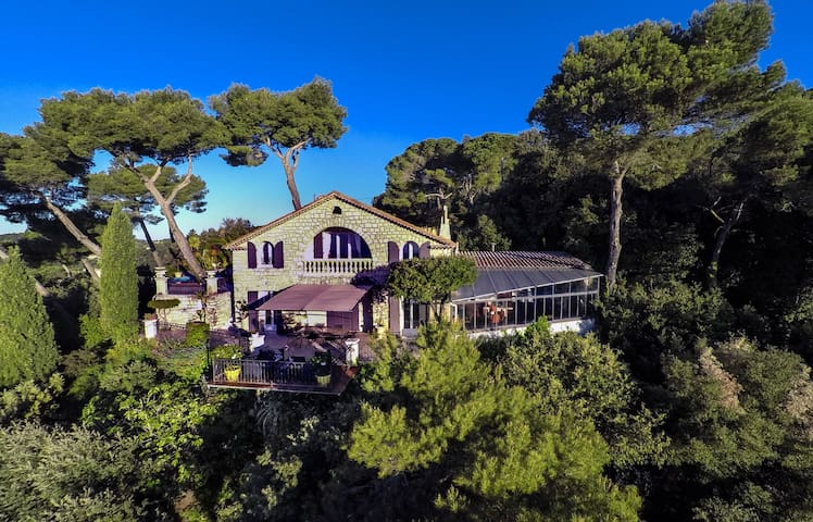 Spectacular sea-view, pool, Grasse! - Grasse - Villa
