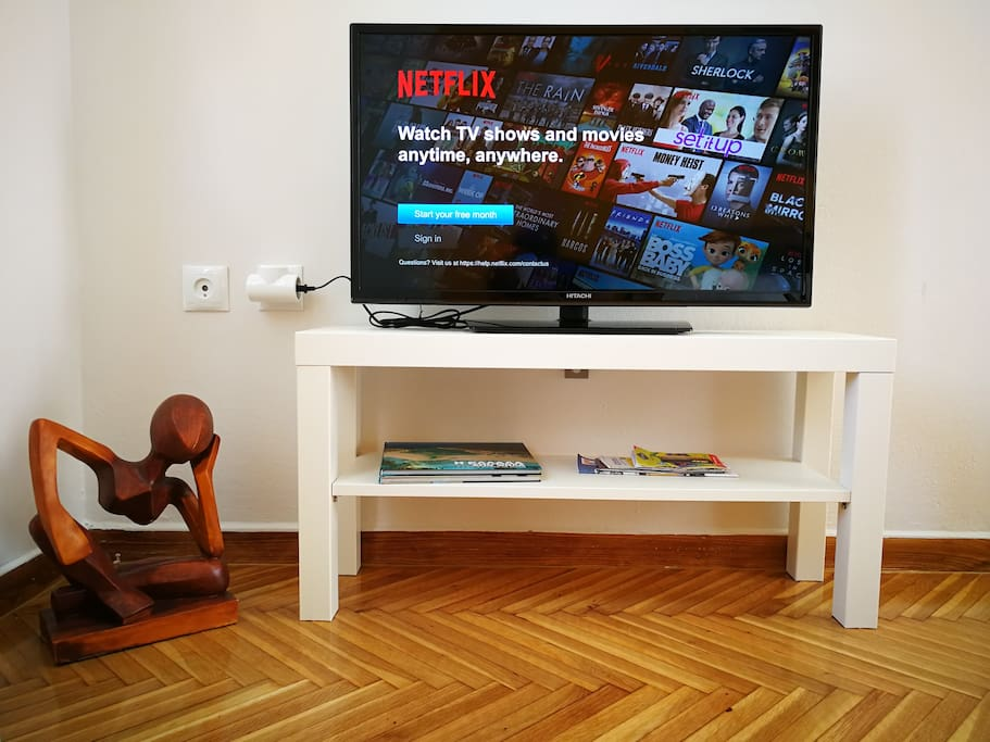 TV with Netflix connection capability