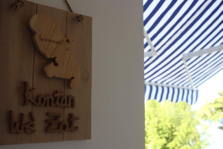 Kontan Wé Zot / Bienvenue en créole martiniquais