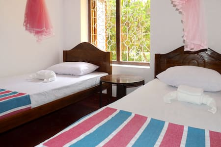 Twin room with garden view @ villa Sisira - Villa