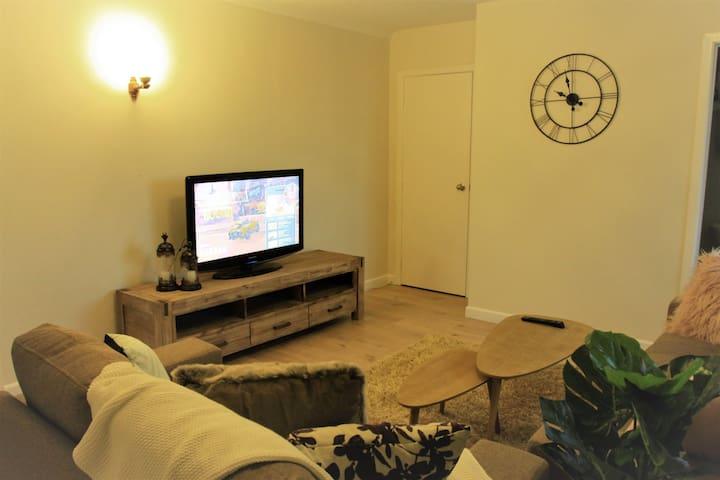 公用客厅 common living area