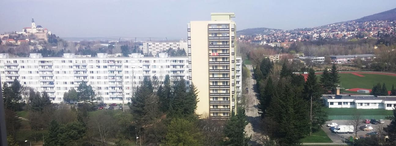 Cosy apartment in Nitra with amazing view