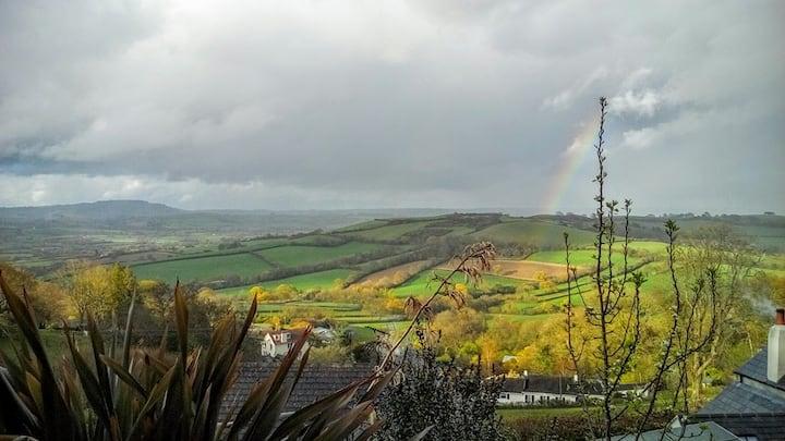 Garden Studio with stunning views, West Dorset.