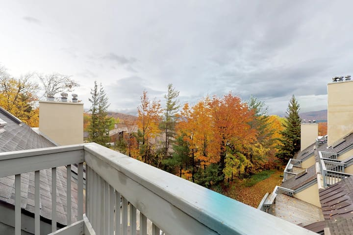 NEW LISTING! Cozy condo w/ shared pool, hot tub, sauna & more - walk to slopes!