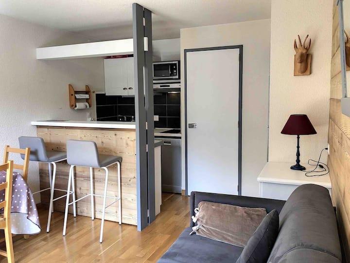 Appartement agréable au Praz