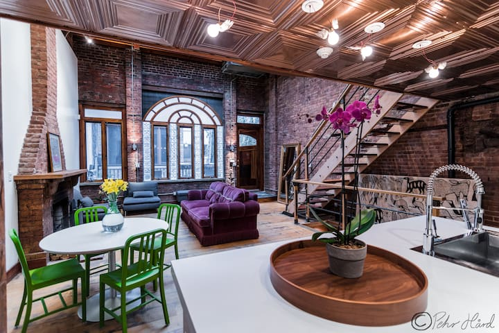 Exquisite 1826 Landmarked Carriage House - New York - Casa